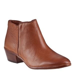 Sam Edelman Brown Leather Petty Ankle Boot 6